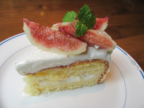 イチジクショートケーキ